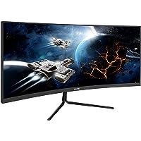 VIOTEK GNV29CB Ultrawide Curved 29-Inch Gaming Monitor | 120Hz UWFHD 21:9 w/Immersive 1200R VA Panel | FreeSync, G-SYNC-Compatible | 3-Year Warranty, 0-Tolerance Dead Pixel Policy (VESA)