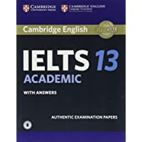 IELTS Practice Tests: Cambridge IELTS 13 Academic Student's Book with Answers with Audio: Authentic Examination Papers
