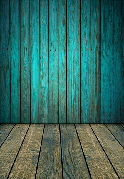 AOFOTO 5x7ft Vintage Wooden Plank Photography Background Old Wood Fence  Board Backdrop Grunge Hardwood Floor Kid