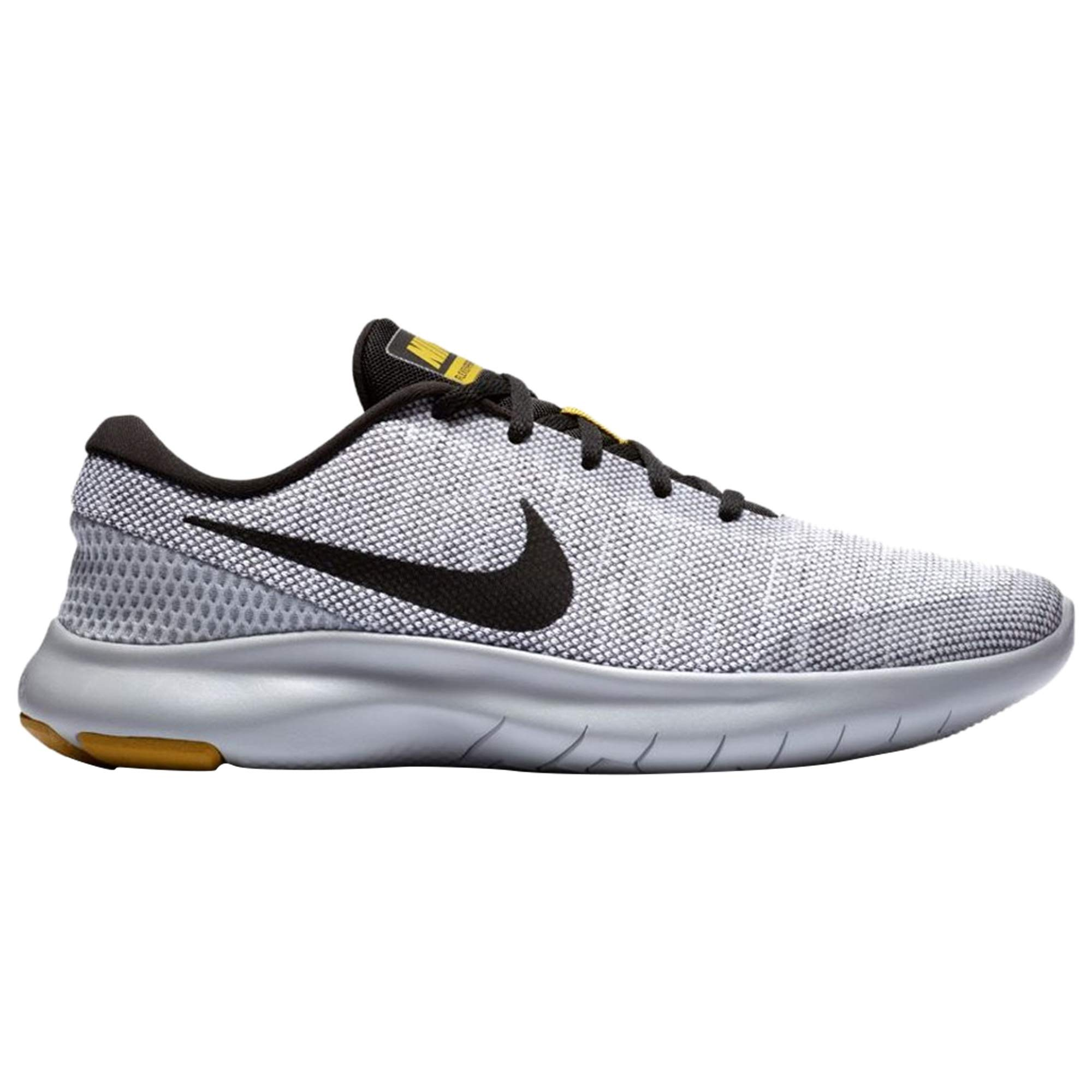 new product 3a361 9b70a Galleon - NIKE Men s Flex Experience RN 7 Running Shoe White Black Wolf Grey  Size 9 M US