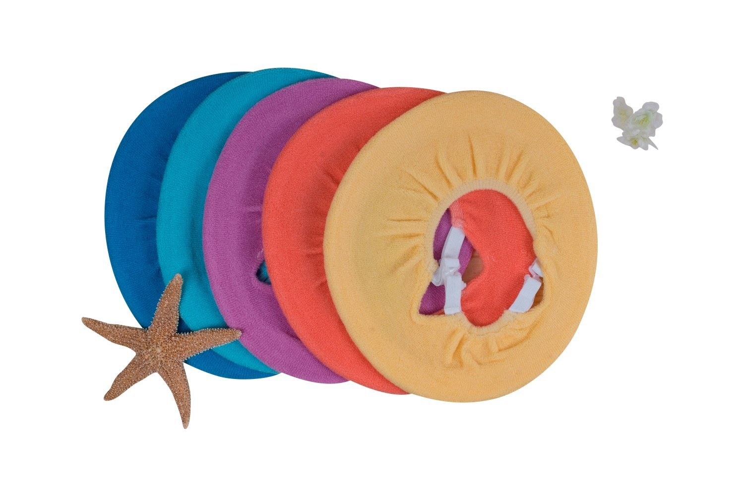 Washable Toilet Seat Cover with Straps - SOLD and SHIP from USA (5, MultiColors) by William