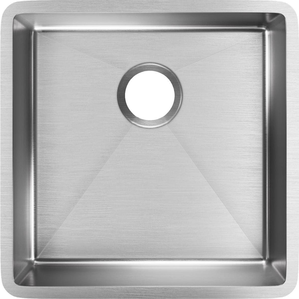 Elkay ECTRU17179T Crosstown Single Bowl Undermount Stainless Steel Sink