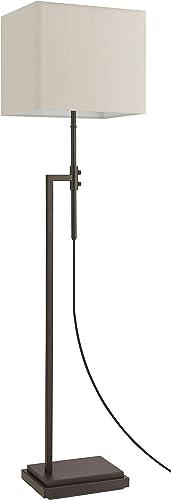 Amazon Brand Stone Beam Contemporary Adjustable Height Floor Lamp