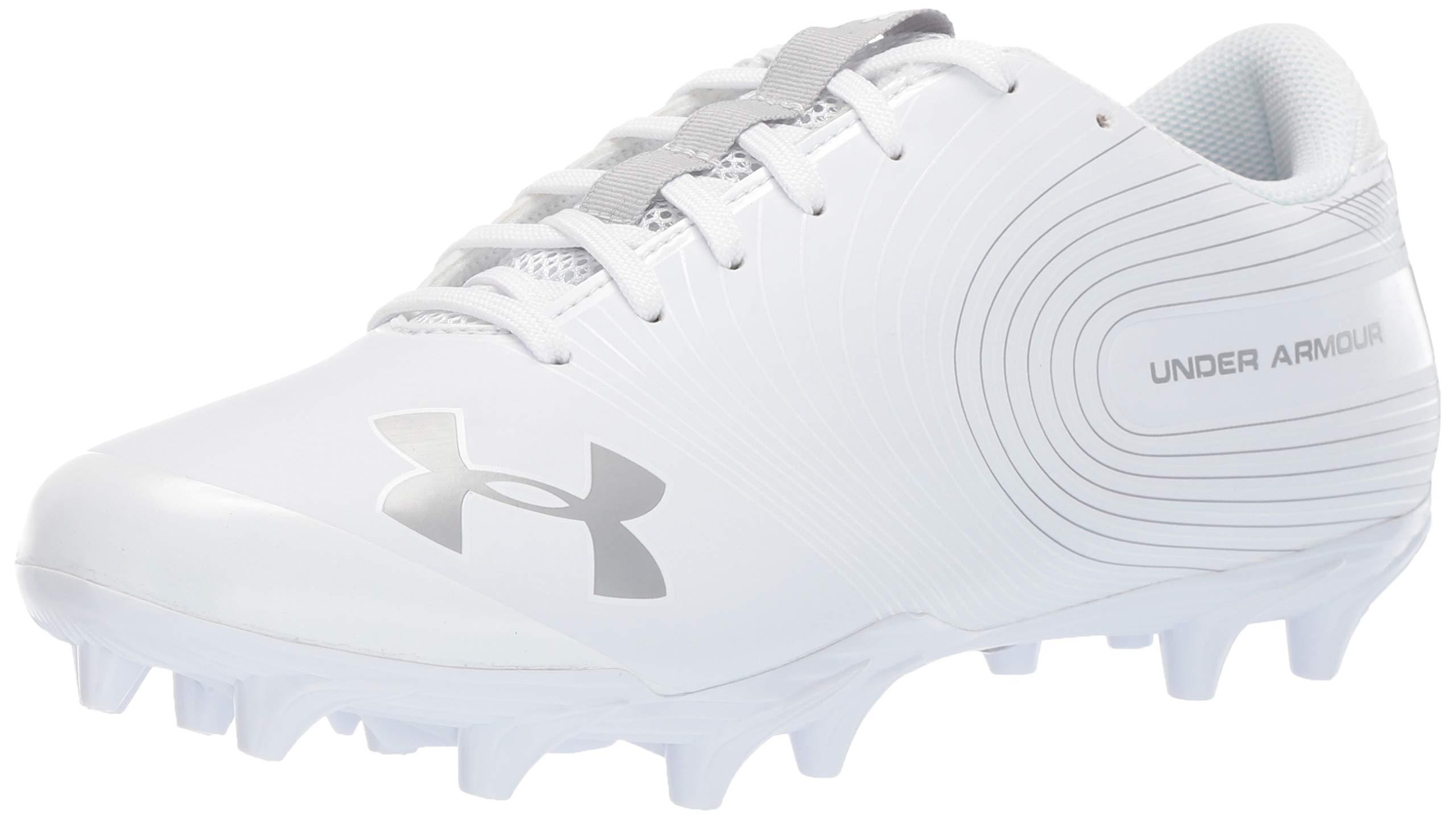 Under Armour Men's Speed Phantom MC Football Shoe, White/White, 7.5 M US by Under Armour (Image #1)