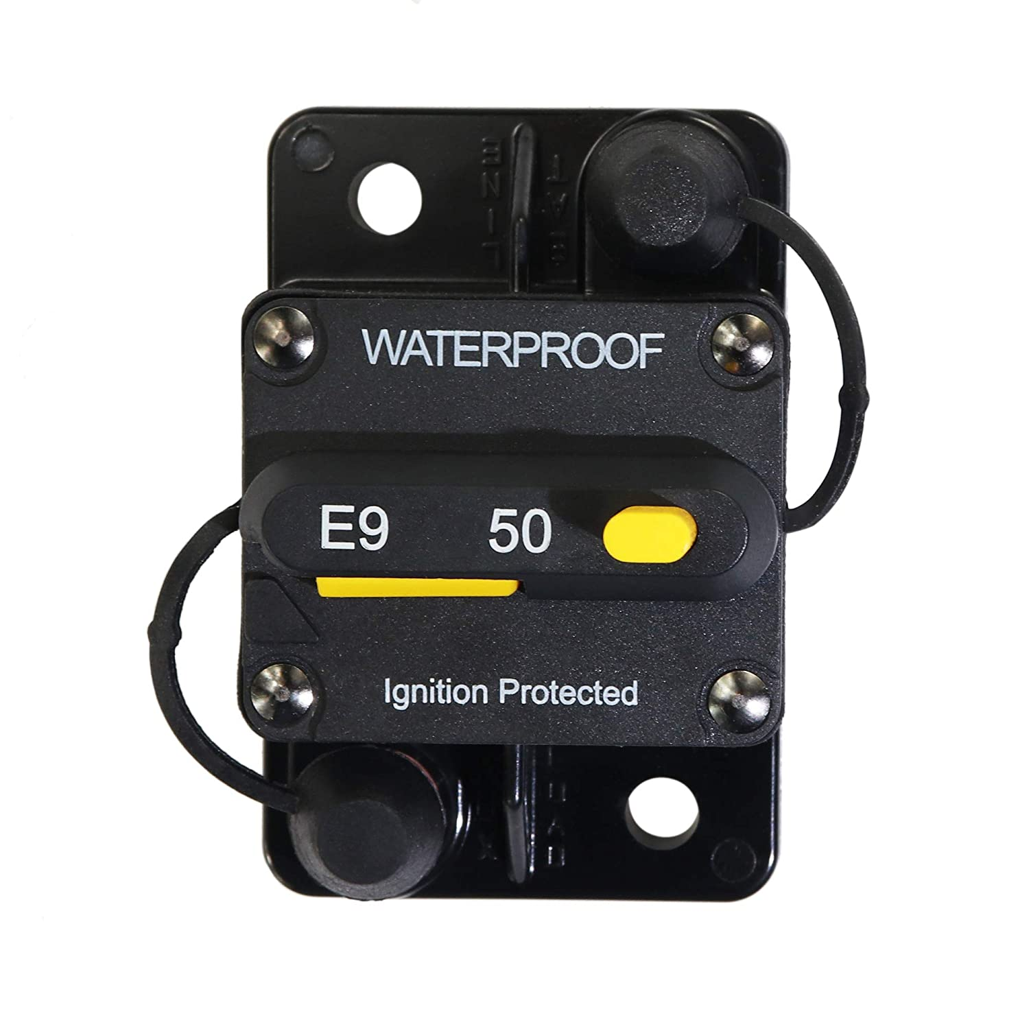 Marine Circuit Breaker 250Amp for Boat Trolling with Manual Reset,Water Proof,12V 48V DC