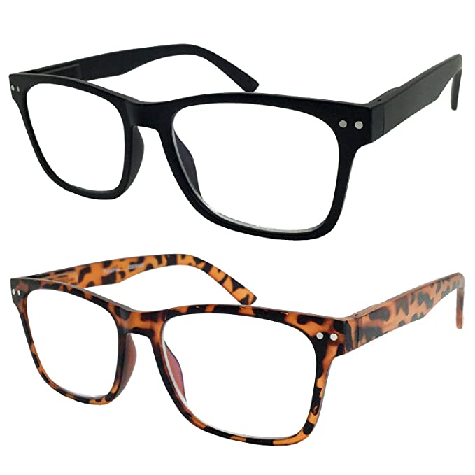 Amazon.com: Pack de 2 gafas de lectura progresivas Bulk ...