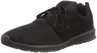 DC Shoes Mens Heathrow Black Mesh Trainers 9 US