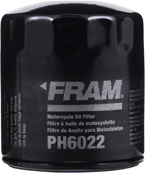 Amazon.com: FRAM PH6022 Filtro de aceite, color negro ...
