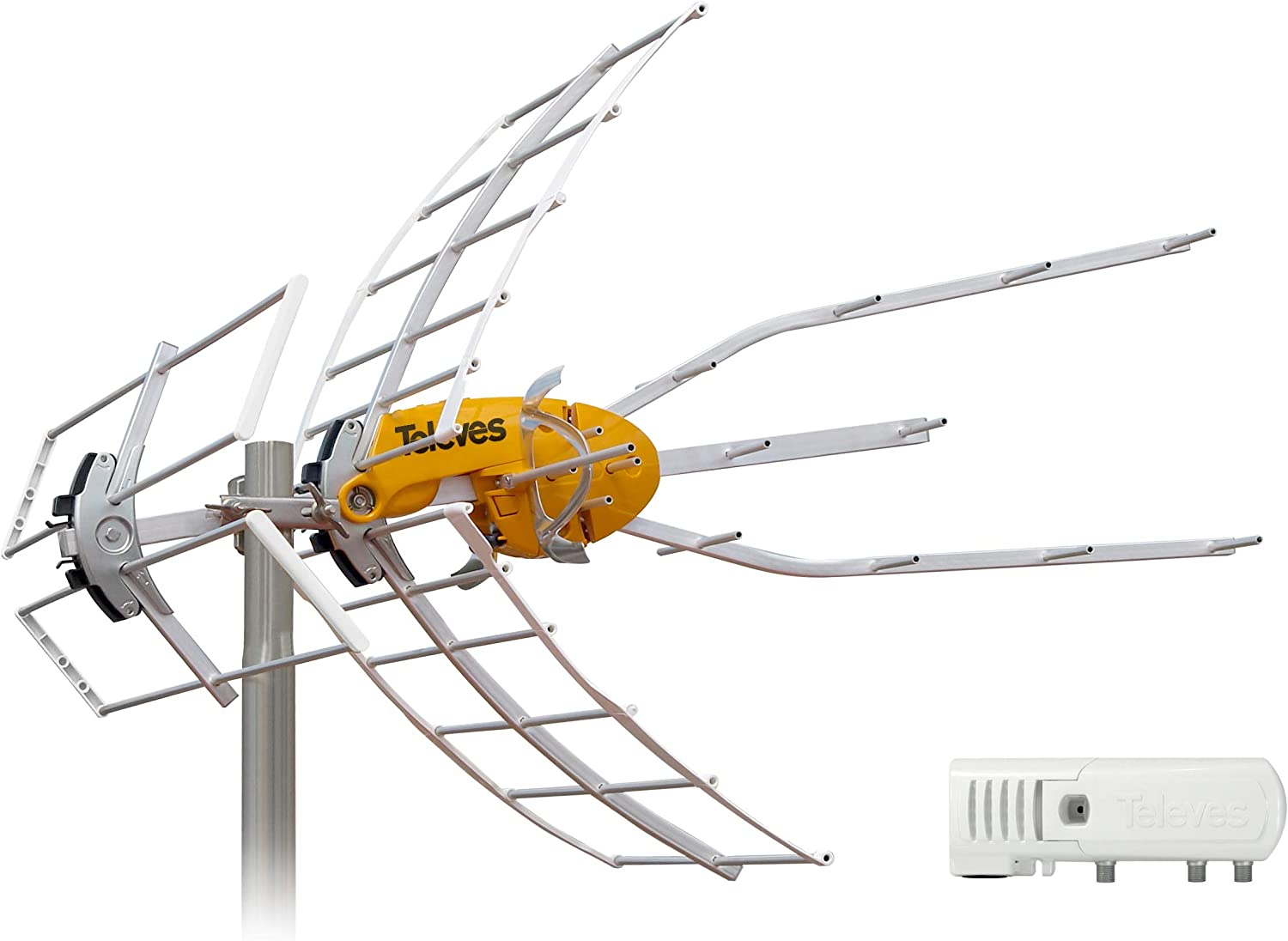 Televes Outdoor Ellipse Mix UHF//VHF HDTV Antenna with LTE Filter