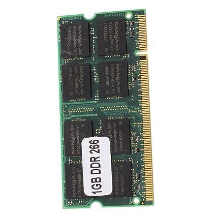 TOOGOO(R) 1GB Memoria RAM Memoria PC2100 DDR CL2.5 DIMM 266MHz 200