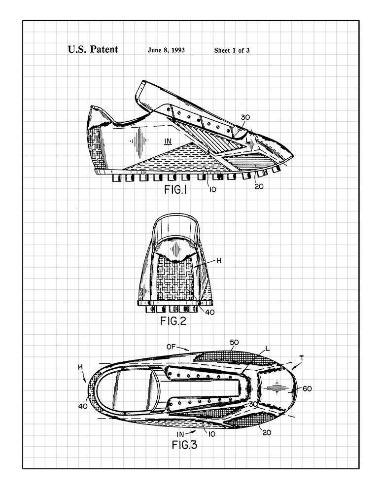 Amazon Com Frame A Patent Soccer