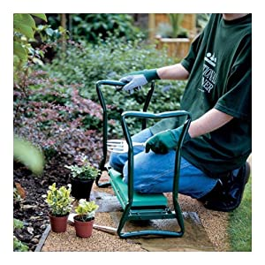 Garden Tool Folding Garden Seat and Kneeler Pads Bench Gardening Aid Knee Chair