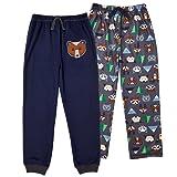 St. Eve Boys' Sleep Pant 2-Pack Fox Print & Navy