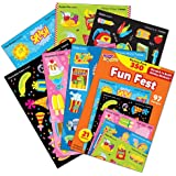Trend Enterprises Stinky Stickers, Mixed Shapes Variety Pack (T-83906)