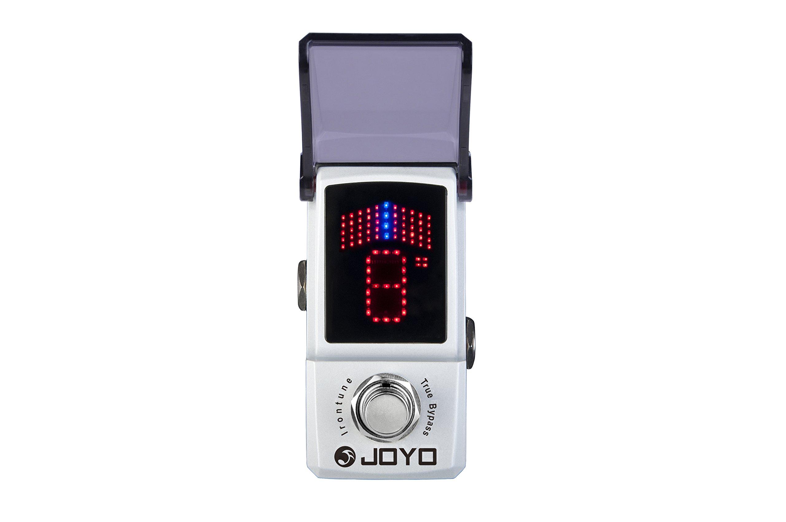 Joyo JF-326 Irontune Pedal Tuner Electric Guitar Single Effect
