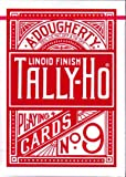 Baraja TALLY-HO Circle - Dorso Rojo (US Playing Card Company)