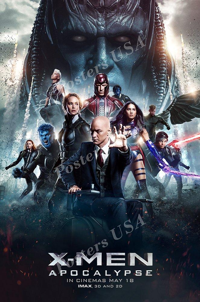"Posters USA - Marvel X-Men Apocalypse Movie Poster GLOSSY FINISH - FIL318 (24"" x 36"" (61cm x 91.5cm))"