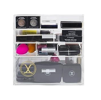 Amazon.com: Luxie elegante con 4 cajones Organizador ...