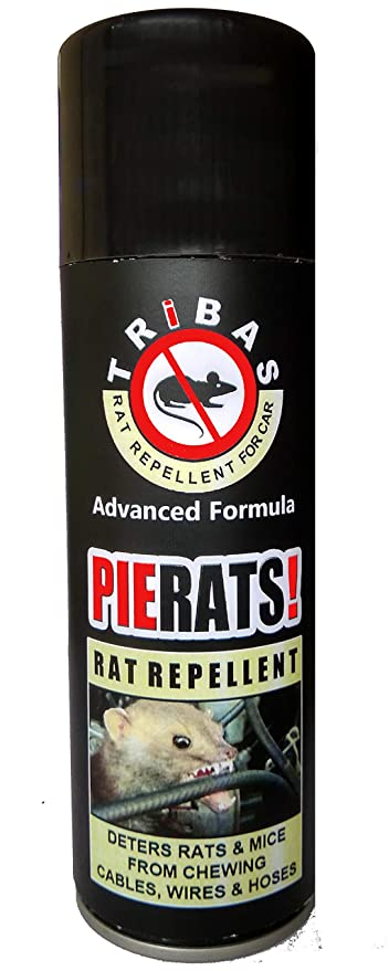 TRIBAS Pierats Rat Mouse Repellent Spray for Car (200 ml)