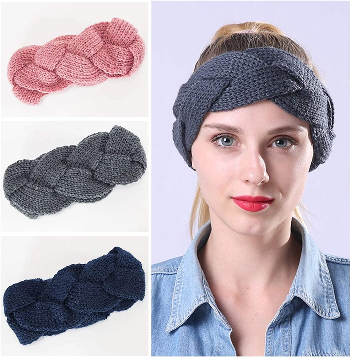 3 Pack Winter Knitted...
