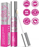 "Eyelash Growth Serum,""Wonder Lash and Brow"" by Brazen Babe-Scientifically Proven, Natural Eyelash Serum-Thickens & Lengthens-Great for Both Lashes and Brows"