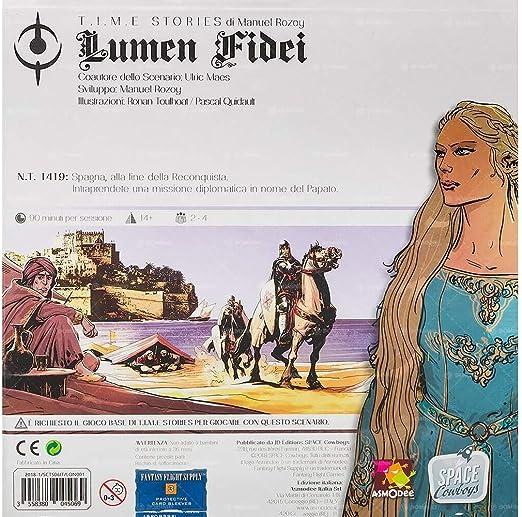 Asmodee- T.I.M.E Stories Lumen Fidei Juego de Mesa, Color, 8970: Amazon.es: Juguetes y juegos
