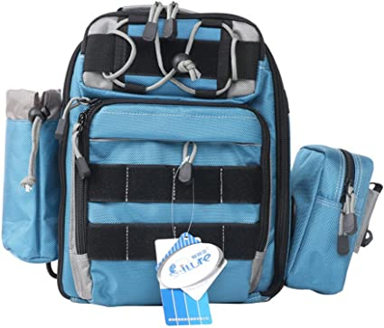 Angelrolle Tasche Angeltasche Outdoor Fliegenfischen Angelrolle Fall Angelzubeh/ör Organizer wasserabweisend Angelausr/üstung Tragetasche #3802