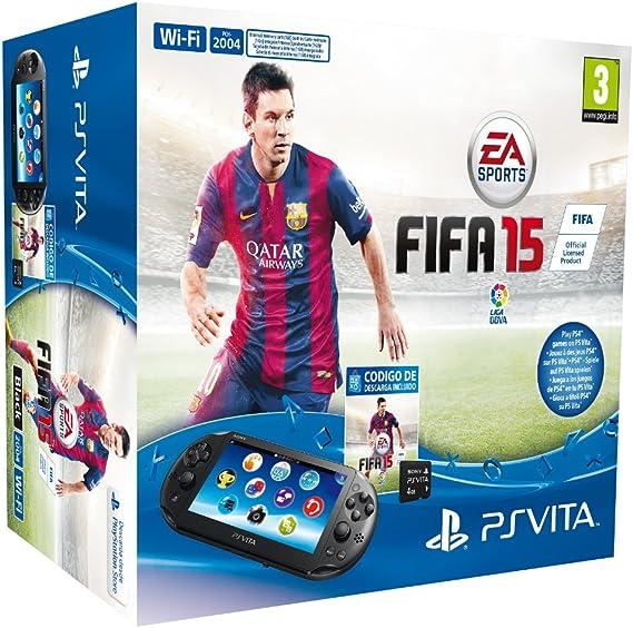 PlayStation Vita - Consola + FIFA 15 Voucher + MC 4 GB: Amazon.es: Videojuegos