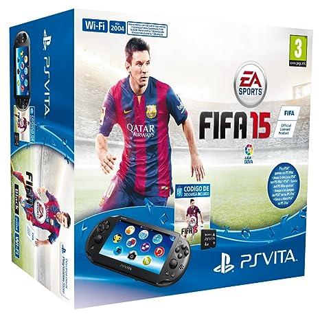 PlayStation Vita - Consola + FIFA 15 Voucher + MC 4 GB ...