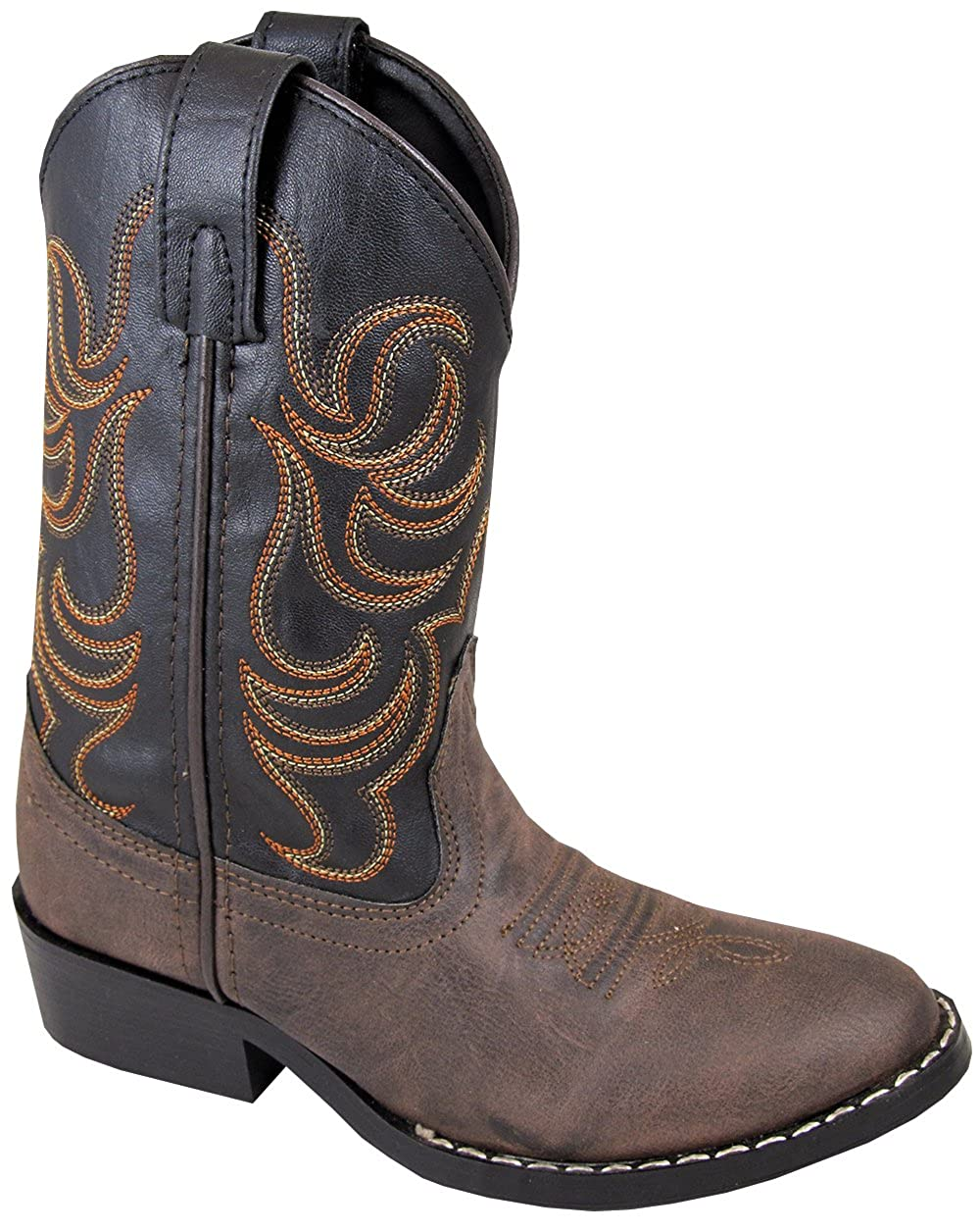 Smoky Mountain Childrens Girls Monterey Boots Brown/Pink Smoky Mountain Boots 1574C