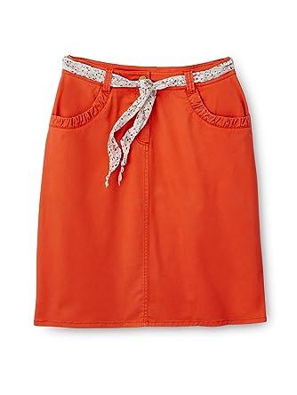e6b983aaaba9 Balsamik - Jupe droite extensible, ceinture foulard - femme - Taille   40 -  Couleur