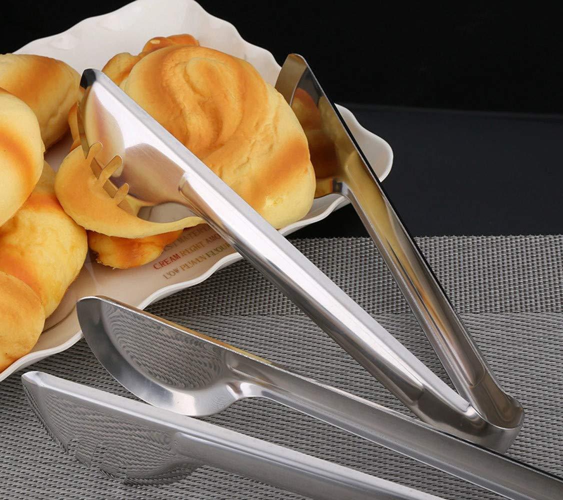 cz-xing pane cibo pinze da cucina in acciaio INOX clip per bistecca barbecue buffet Cooking pastry Tools morsetto 1 9+1 11