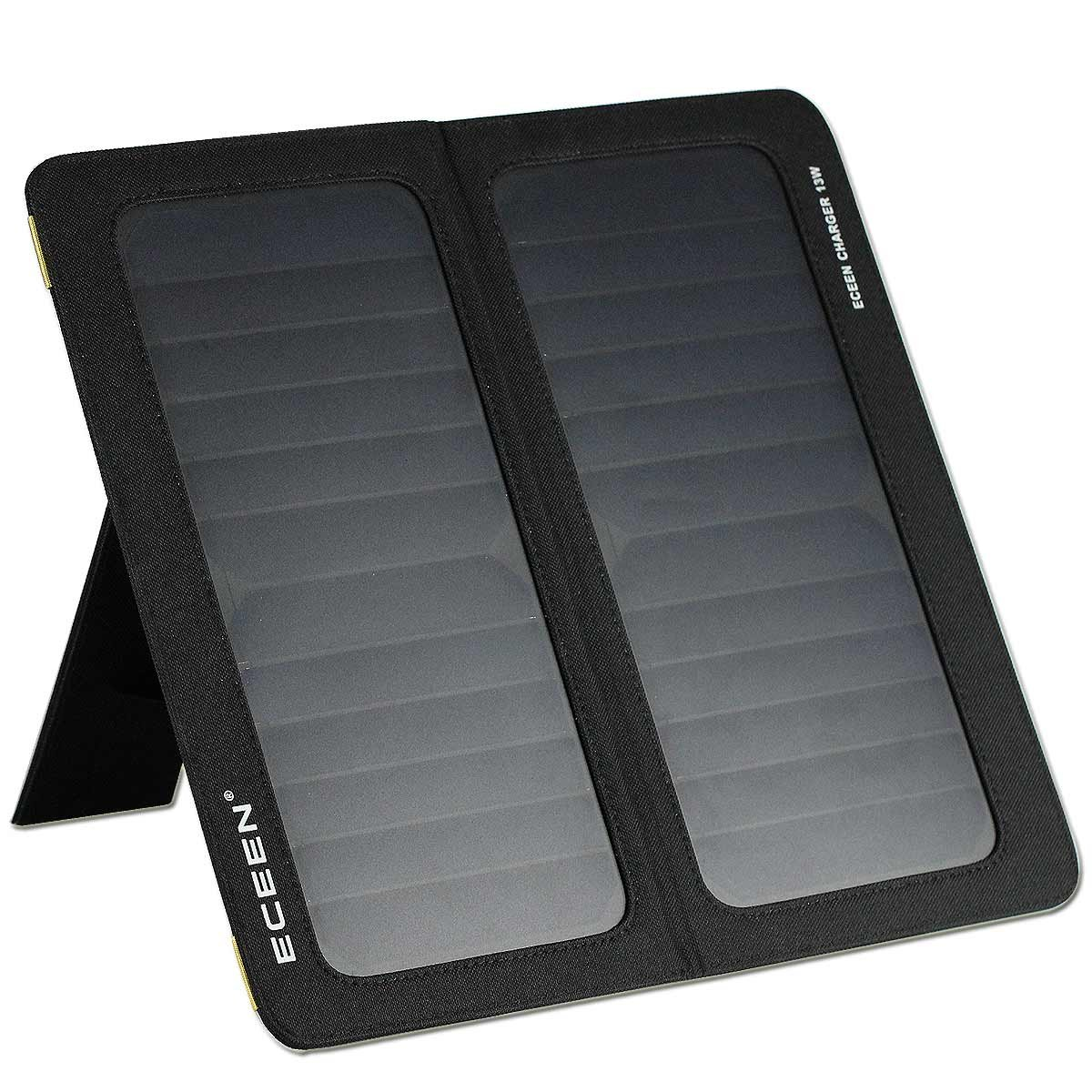 ECEEN ECC-626 13W Universal Foldable Solar Charger with Dual USB
