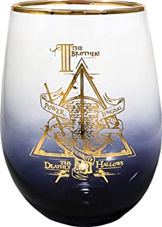 I Solemnly Swear That I Am Up To No Good Stemmed Wine Glass with Charm and Presentation Packaging Orange Kat WG-SSP