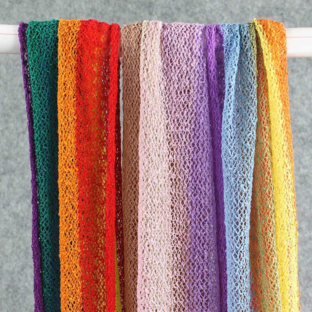 TOYANDONA 1 pieza de Cobija de beb/é arcoiris para fotograf/ía manta el/ástica Cobija de ondulaci/ón larga para accesorios de fotograf/ía para beb/és reci/én nacidos
