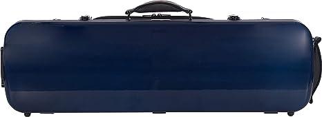 Estuche para violín fibra Oblong 4/4 navy blue - cream M-Case: Amazon.es: Instrumentos musicales