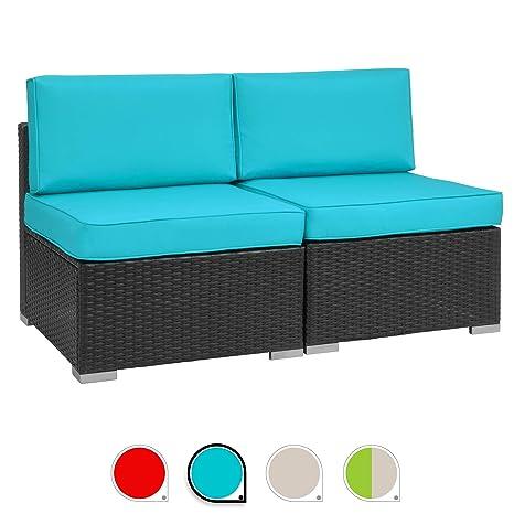 Amazon.com: Walsunny - Juego de muebles de exterior para ...
