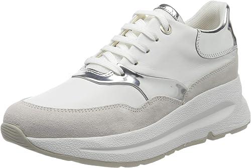 Interesar La base de datos Incorporar  Geox Women's D Backsie C Sneaker: Amazon.co.uk: Shoes & Bags