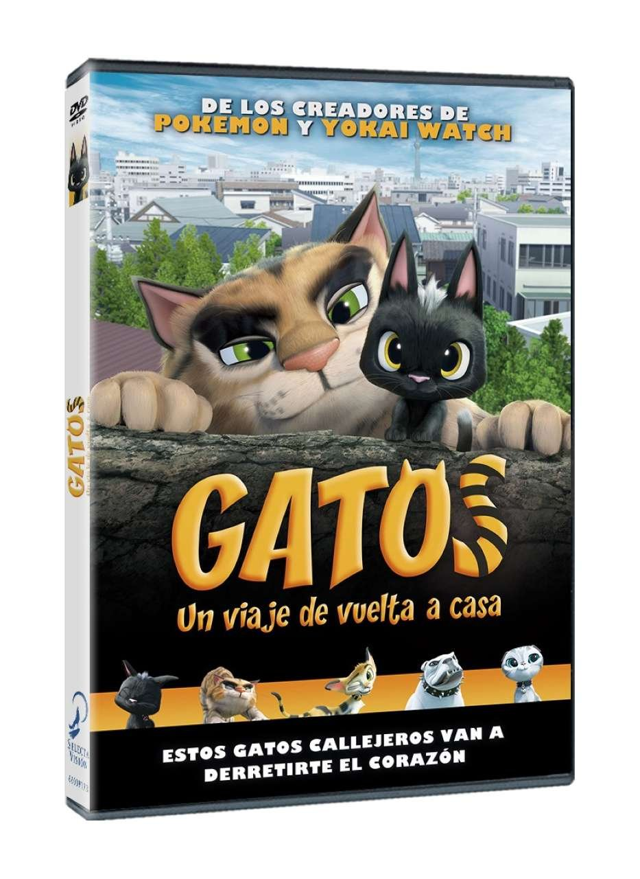Gatos [DVD]: Amazon.es: Animación, Mikinori Sakakibara ...