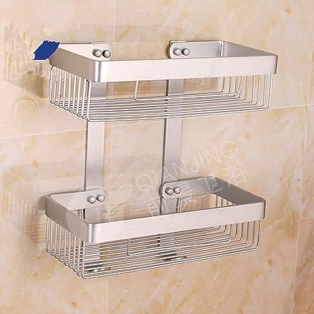 ZMINGM Shower Rack Bathroom Rack Bathroom Accessories Shower Rack ...