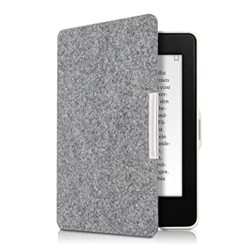 kwmobile Funda para Amazon Kindle Paperwhite - Carcasa Plegable de ...