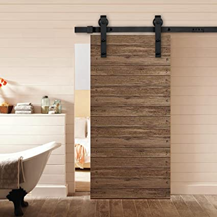 Amazon Good Life 8 Ft Sliding Barn Door Hardware Track System