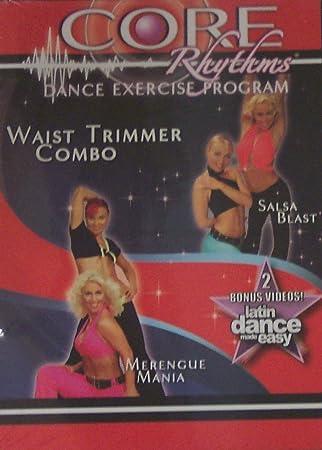 Core Rhythms programa de ejercicios de baile, cintura Trimmer Combo, Danza Latina Made Easy