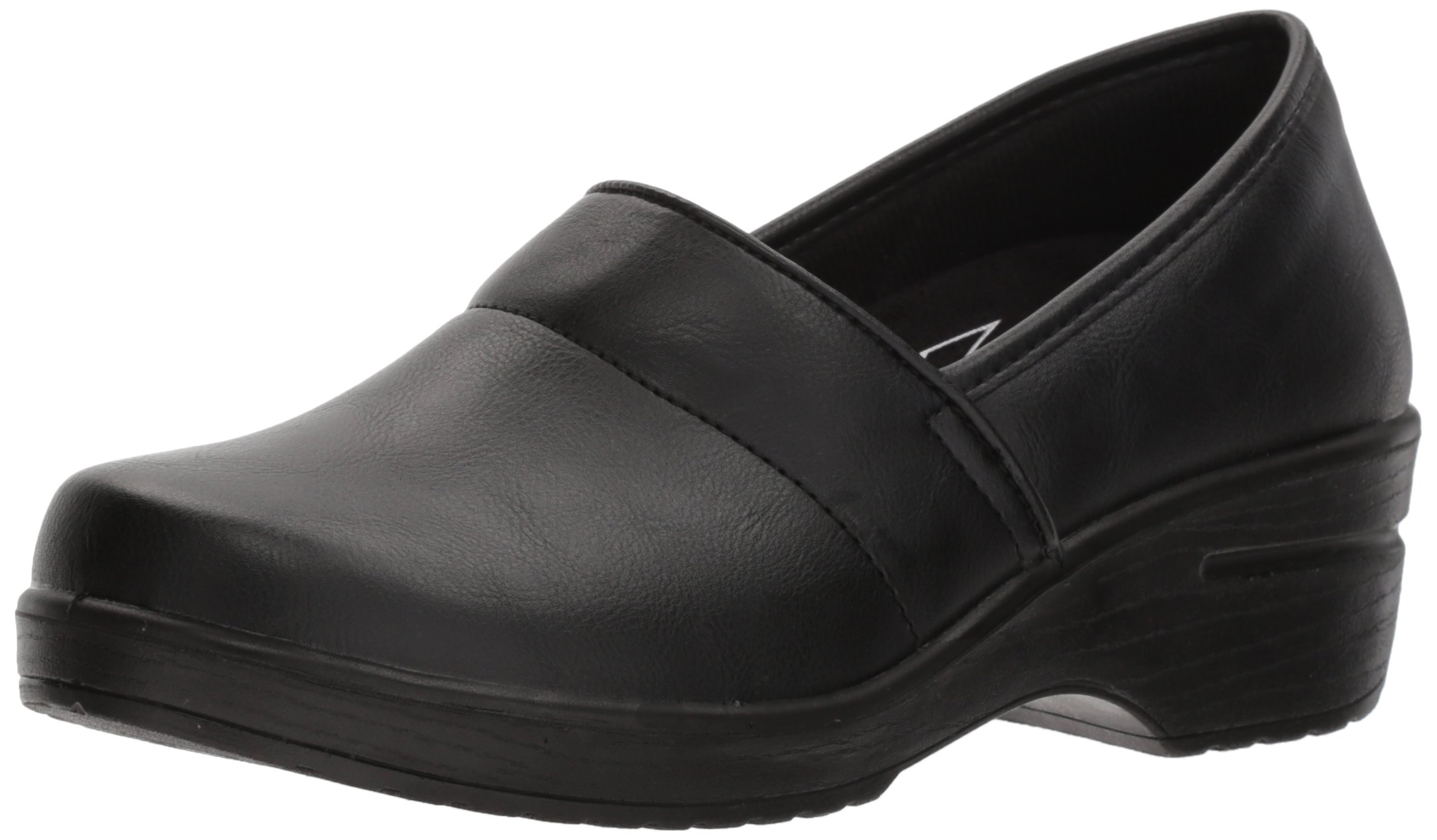 Easy Works Women's Lyndee Health Care Professional Shoe, Black, 8.5 W US by Easy Works (Image #1)