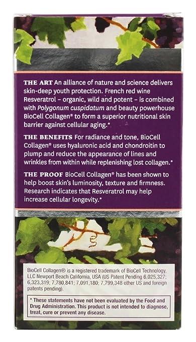 ResVitale - El colágeno realza 1000 el magnesio. - 60 cápsulas vegetarianas: Amazon.es: Salud y cuidado personal