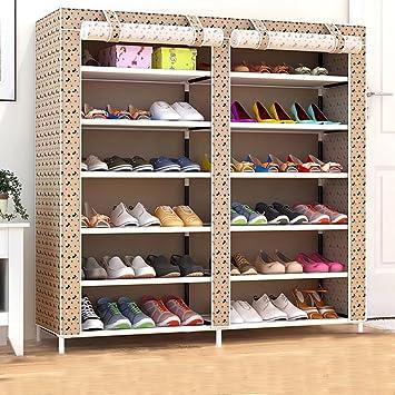 separation shoes d0e81 d1825 Armadio per scarpiera portatile a 6 livelli con mobiletto ...
