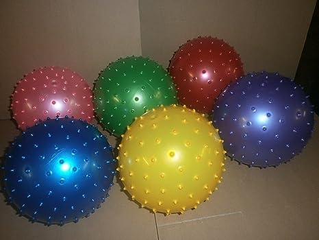 12 x Espino pelota de masaje (pelota de 20 cm de juguete: Amazon ...
