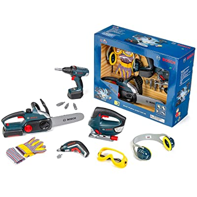 Bosch Large Toy Power Tools, 14-Piece Set: Toys & Games