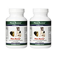 Flea Away All Natural Flea, Tick, and Mosquito Repellent for Dogs and Cats, 100...