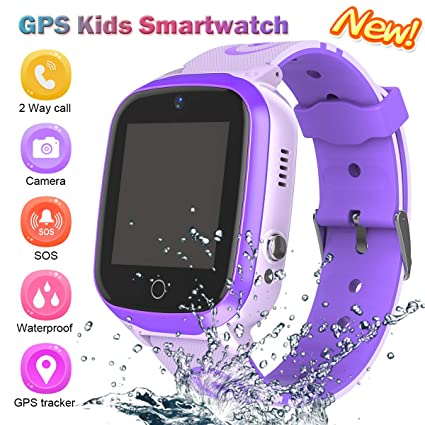 Kids Smart Watch for Boys Smartwatch Wifi/GPS Tracker Watch, Kids GPS Tracker Watch Activity Tracker Digital Watch, Touch Screen HD Camera Pedometer ...
